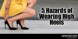 5 Hazards of Wearing High Heels