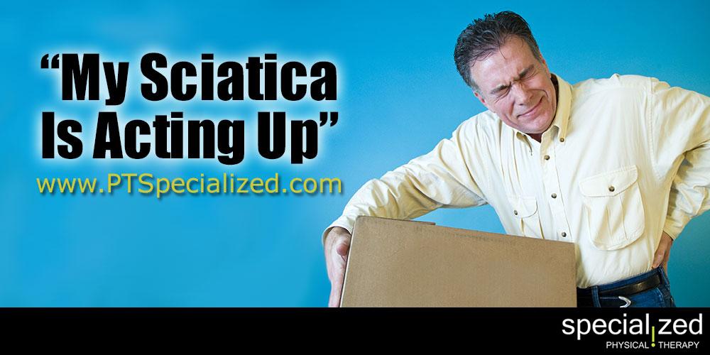 My Sciatica Is Acting Up…How To Get Help!